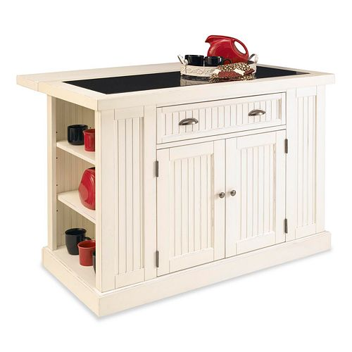 Home styles nantucket kitchen island for Nantucket style kitchen