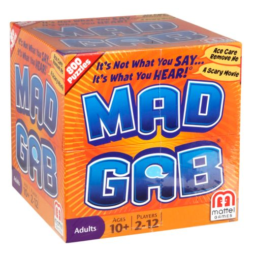 Mad Gab Game by Mattel