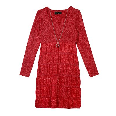 IZ Amy Byer Sweaterdress - Girls Plus