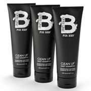 Bed Head B by TIGI 3-pk. for Men Clean Up Daily Shampoo Set