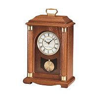 Seiko Oak Mantel Carriage Clock - QXJ114BLH
