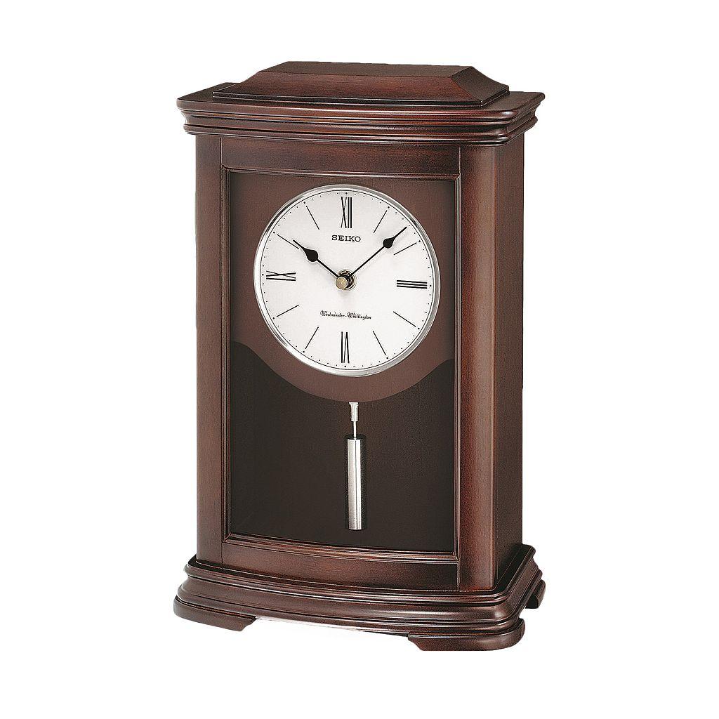 Seiko Alder Mantel Clock - QXQ013BLH