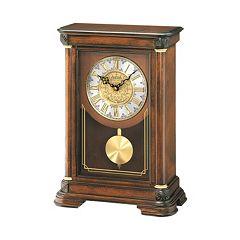 Seiko Alder Mantel Clock - QXQ008BLH