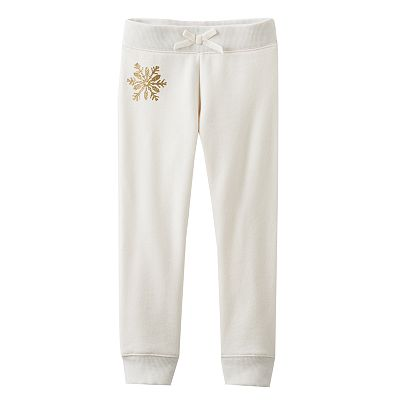 OshKosh B'gosh Snowflake Fleece Pants - Toddler