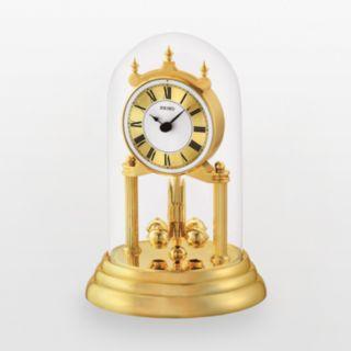 Seiko Gold Tone Anniversary Mantel Clock - QHN006GLH