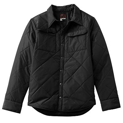 Tony Hawk Campfire Quilted Button-Down Jacket - Men