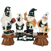 Michigan State Spartans Garden Fan Gnome Bench