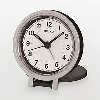 Seiko Two Tone Travel Alarm Clock - QHT011KLH