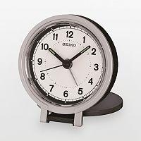 Seiko Two Tone Travel Alarm Clock - QHT011KLH