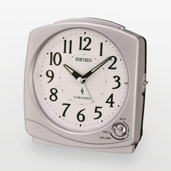 Kohls.com Seiko Seiko Silver Tone Melody Alarm Clock ...