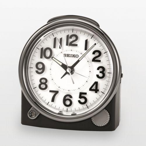 Seiko Two Tone Alarm Clock - QXE011JLH