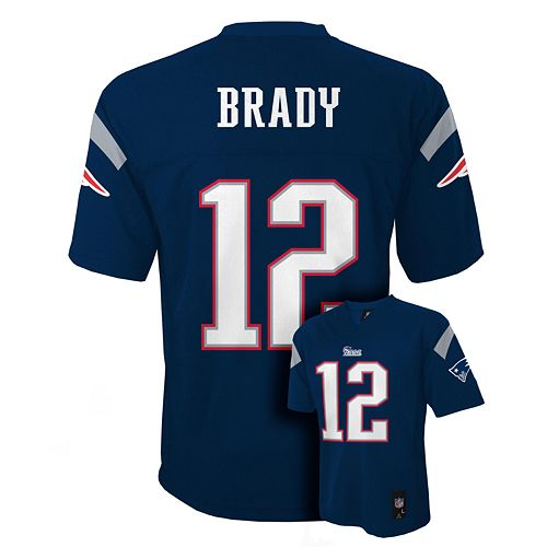 promo code 599cb 6c9f4 Boys 4-7 New England Patriots Tom Brady NFL Replica Jersey