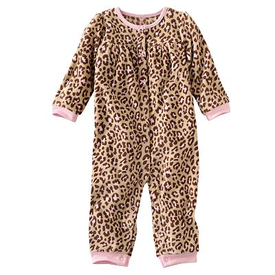 Carter's Animal Microfleece Coveralls - Baby
