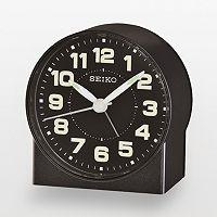 Seiko Black Alarm Clock - QHE084KLH