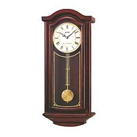 Seiko Wood Pendulum Wall Clock - QXH118BLH