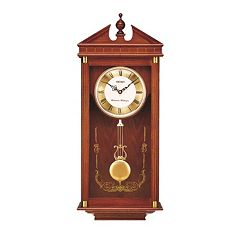 Seiko Oak Pendulum Wall Clock - QXH107BLH