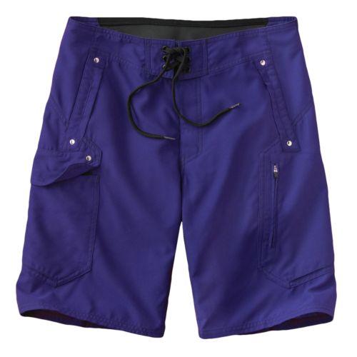 Beach Rays Solid Board Shorts