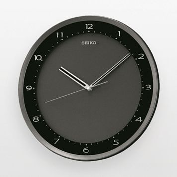 Seiko Black Wall Clock - QXA393JLH