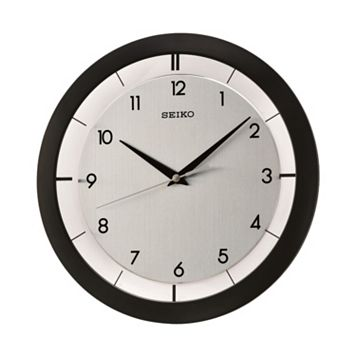 Seiko Black Wall Clock - QXA520KLH