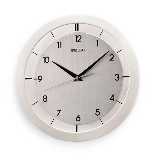 Seiko White Wall Clock - QXA520WLH