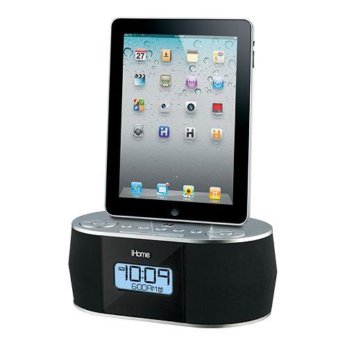 iHome iD38 App-Friendly Dual Alarm Stereo Clock Radio