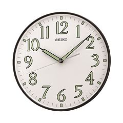 Seiko Black Wall Clock - QXA521KLH