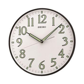 Seiko Black Wall Clock - QXA521KLH