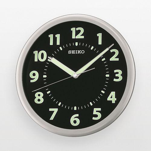 Seiko Silver Tone Wall Clock - QXA435SLH