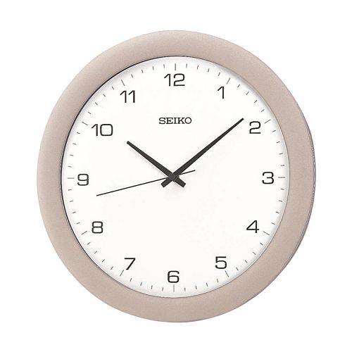 Seiko Silver Tone Wall Clock - QXA137SLH