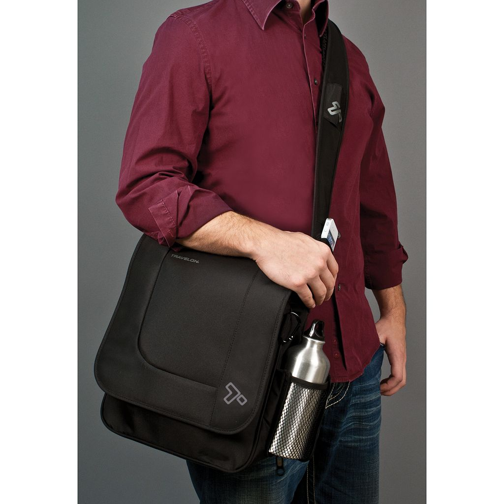 Travelon Anti-Theft Urban N/S Messenger Bag
