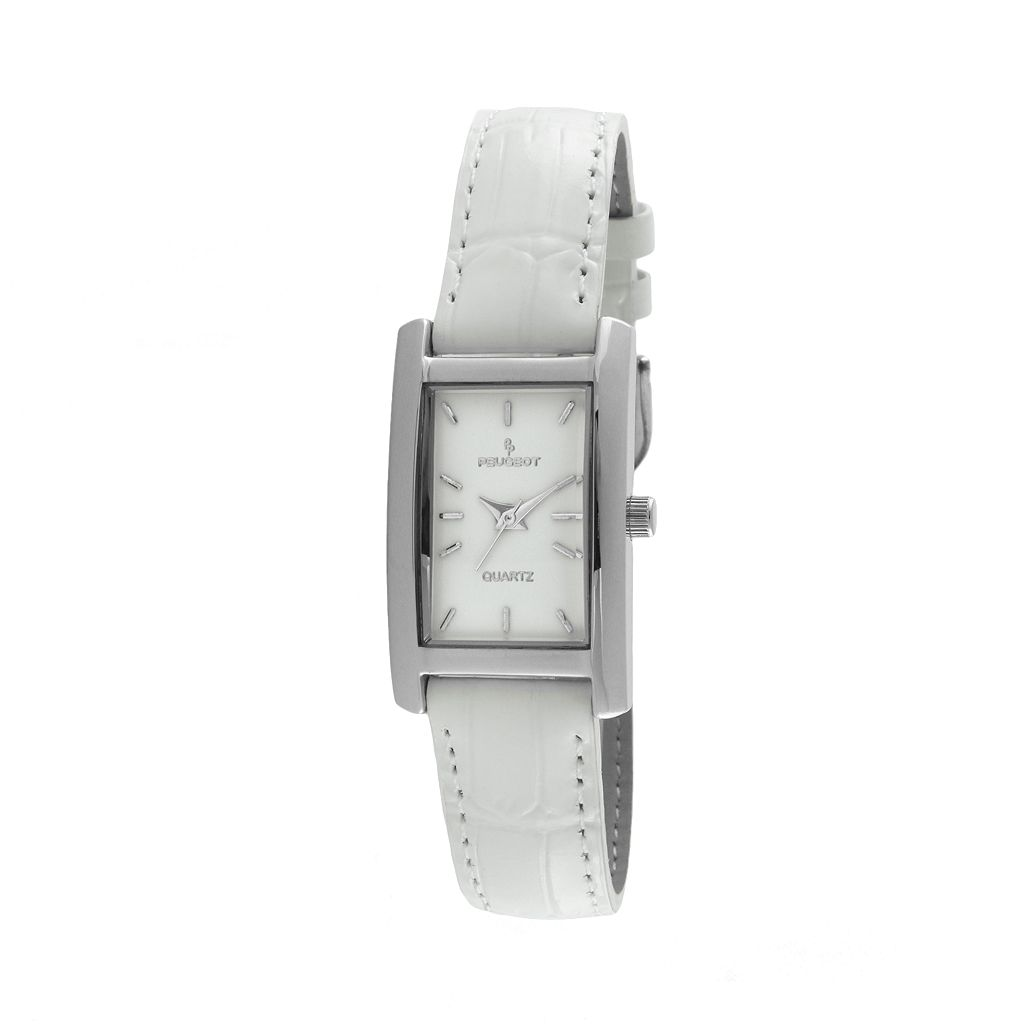 Peugeot Women's Leather Watch - 3008WT