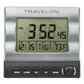 Travelon Travel Alarm Clock