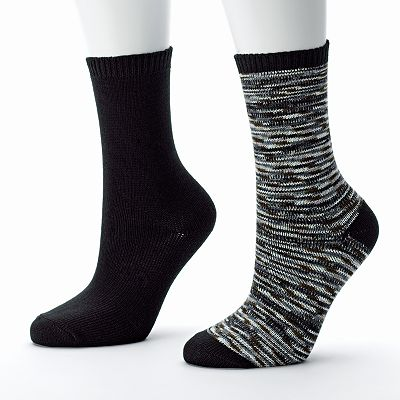 SONOMA life and style 2-pk. Space-Dyed Crew Socks