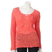 SONOMA life + style Tape Yarn Sweater