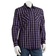 Apt. 9 Plaid Poplin Casual Button-Down Shirt
