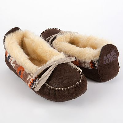 MUK LUKS Tobey Moccasin Slippers