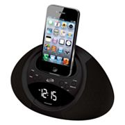 iLive Dual Alarm Clock Radio for iPod and iPhone
