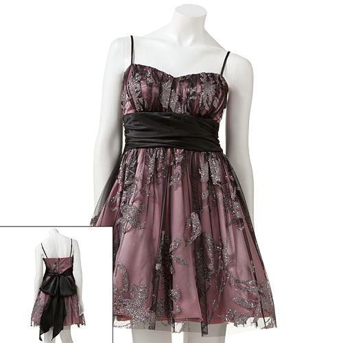 Bee Darlin Floral Glitter Dress $ 69.99