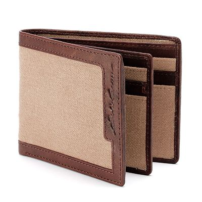 Eddie Bauer Canvas Bifold Wallet