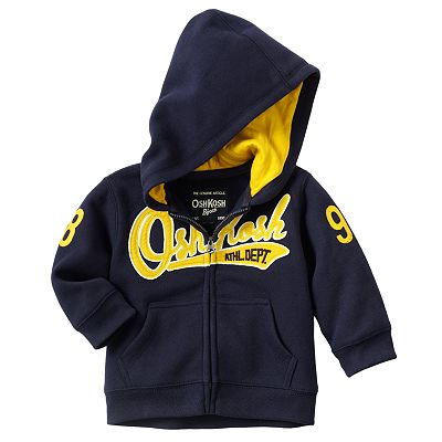 OshKosh B'gosh Athletic Fleece Hoodie - Baby