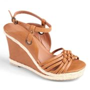 Journee Collection Oprah Platform Wedge Sandals - Women