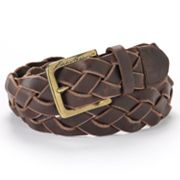 Eddie Bauer Braided Leather Belt