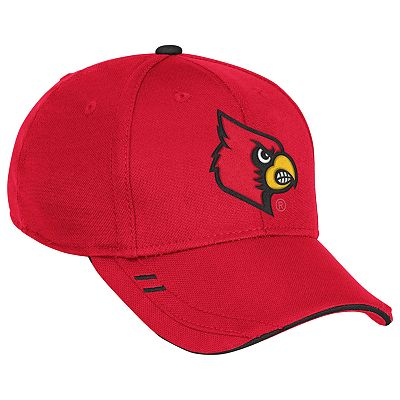 adidas Louisville Cardinals Coach's Flex-Fit Cap