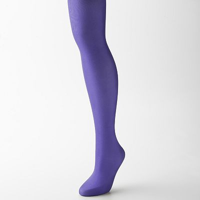 Apt. 9 Opaque Microfiber Control-Top Tights