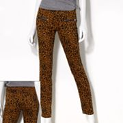 Princess Vera Wang Cheetah Skinny Pants - Juniors