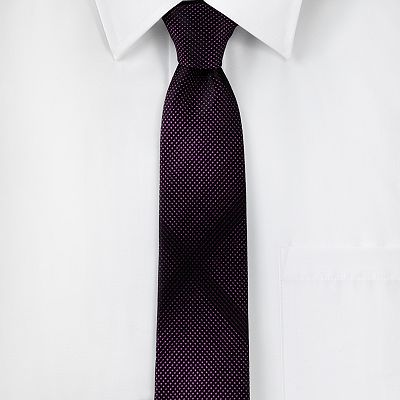 Marc Anthony Shaded Micro Geometric Neat Tie