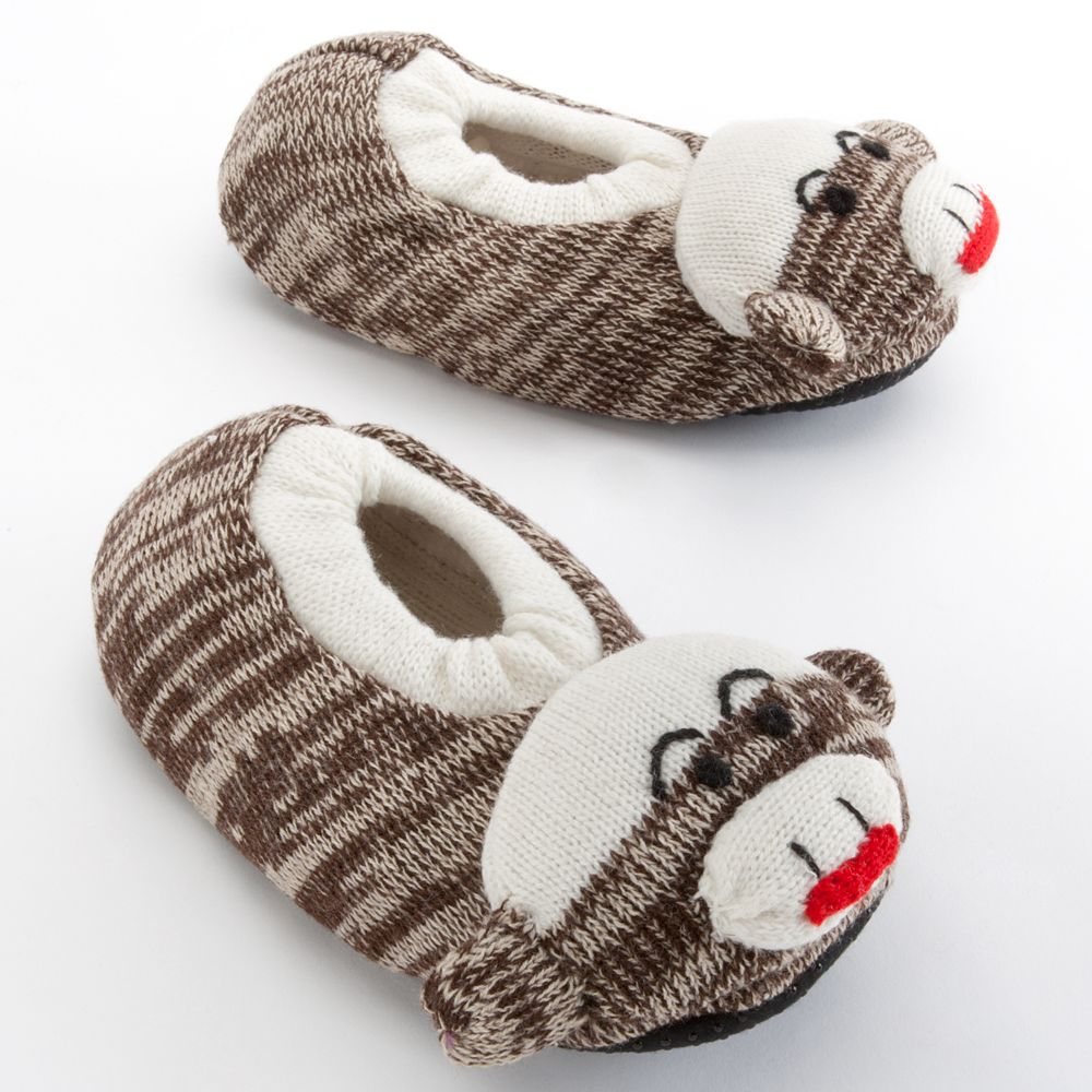MUK LUKS Sock Monkey Slippers