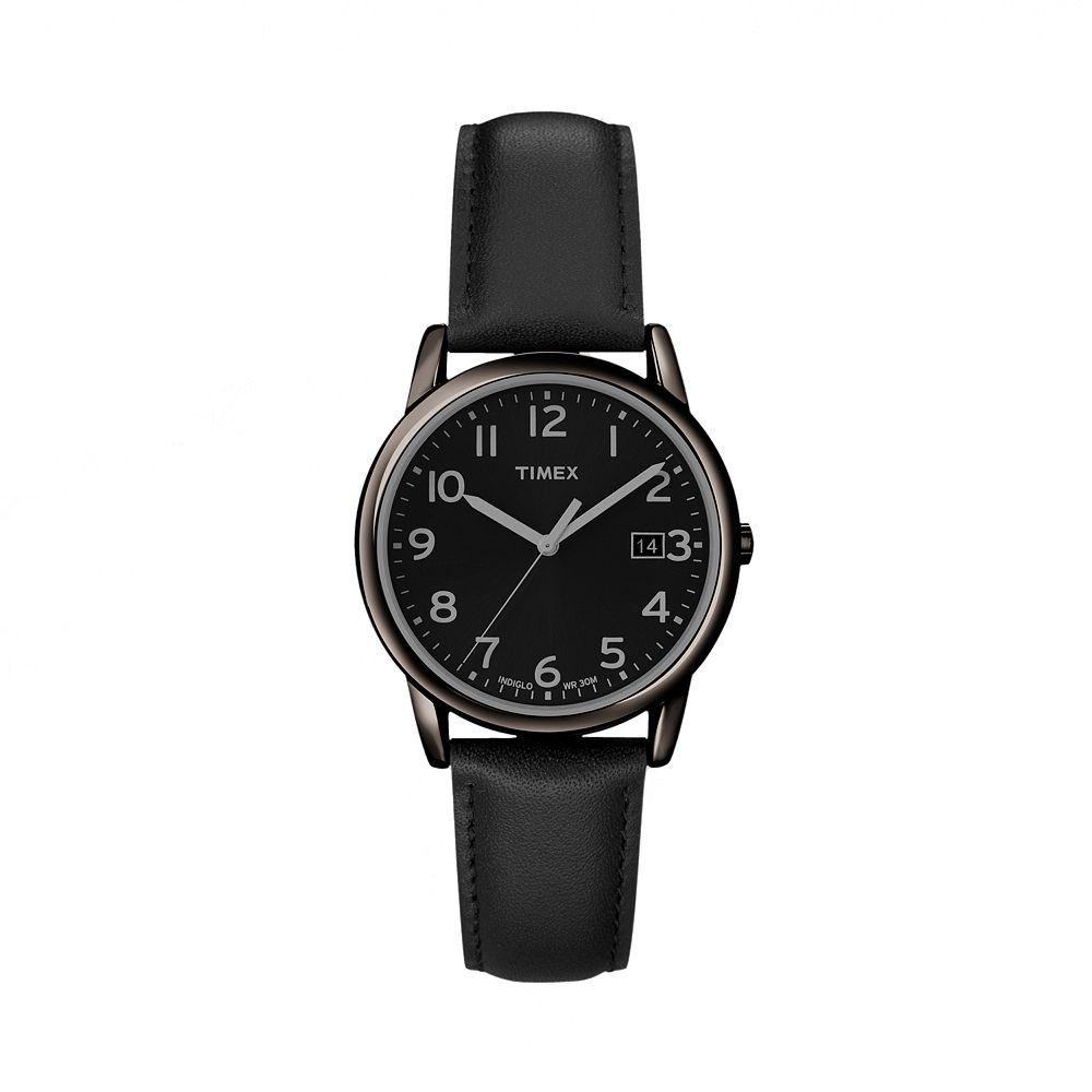 Timex® Men's Leather Watch - T2N947KZ