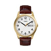 Timex Men's Leather Watch - T2N065KZ