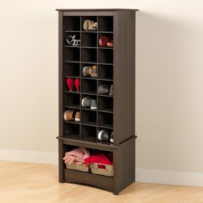 Tall Shoe Cubby Cabinet